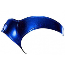 Sexy Micro Short / Pole Dance / Tanga Metalica Azul