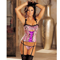 Corset Y Tanga Shirley Of Hollywood 29038 Buetier Knit Mujer
