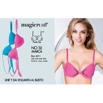 Vicky Form Bra Magicpush-up No Se Marca Comodo Mod.4311