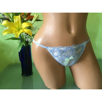 Victorias Secret Bikini Tanga Con Encaje Color Lavanda