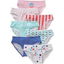 Old Navy Panties De Niña 7 Piezas Stars Stripes Mediana