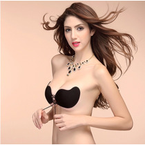 Brasier Fashion Invisible Push Up Silicon