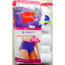 Bikini Calzón Panty Para Dama Fruit Of The Loom Hanes /pieza