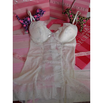 Victoria´s Secret The Bridal Body Garter Novia Con Etiquetas