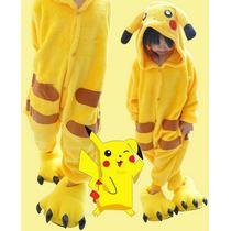Anime Kigurimi Pijama Niño Niña Pikachu Moda Japon Corea