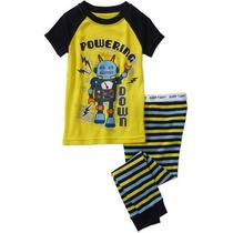 Pijama Camiseta Pantalón Robot Talla 24 Meses Envio Gratis