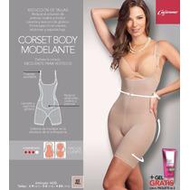 Faja Corset Body Modelante Delinea La Cintura