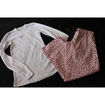 Ruby Moon American Apparel Set Pijama Rosa Confeti Talla Xs