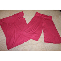 Guilligan O´malley Set Pijama Soft Rosa Capri Talla M