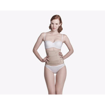 New Form Faja Corta Envolvente Post Parto Color Beige