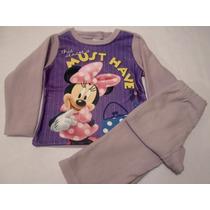 Conjunto Pijama Para Niña Polar Mimi Minnie 8 Años