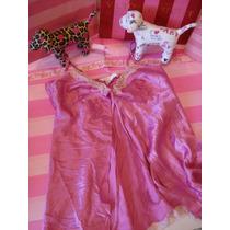 Victorias Secret The Pink Short Satin Baby Doll Sz: Xs