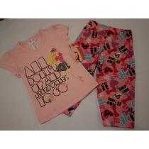 Pijama Para Niña Barbie 4 Años