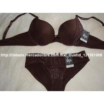 Cordinados Brasier Y Bikini Conjunto 2 Pa Daa