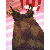 Victorias Secret The Animal Print Bra Baby Doll Sz: S