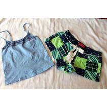 Victoria Secret Xhilaration Set Pijama Boxer Y Cami Talla M