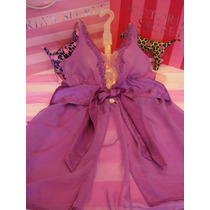 Victorias Secret The Very Sexy Halter Pink Baby Doll Sz M