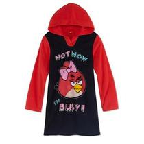 Envio Pijama Talla 10 Anos Nina Angry Birds Camison Hoodie