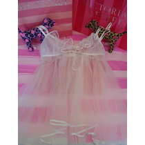 Victorias Secret The Mesh Bridal Baby Doll Novia Sz M