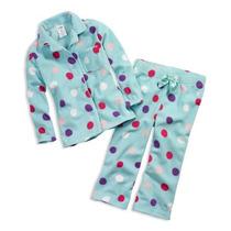 Pijama 2 Piezas Para Niña Talla 2 Años 77kids Calientita Css