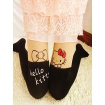 Descuento Media Pantimedia Japonesa Hello Kitty Kawaii