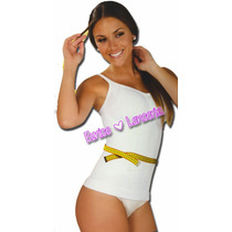Body Siluette Camiseta Retenido Con Corredera Mod. 501