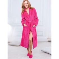 Victoria Secret Bata De Baño Toalla Rosa Talla Extragrande