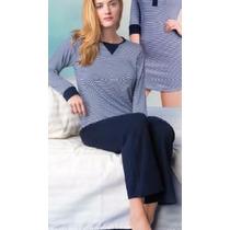 Vicky Form Pijama Playera Pantalon Comoda Moderna Mod.6958