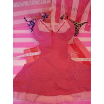 Victorias Secret The Pink Apron Mucama Teddy 36c