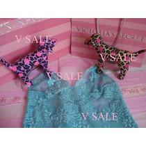 Victorias Secret The Turquoise Lace Slip Baby Doll Sz Xs
