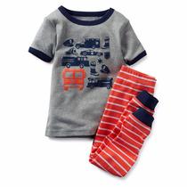 Carters Hermosa Pijama Para Niño Talla 4 Años Envio Gratis
