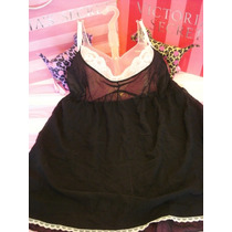 Victorias Secret The Mesh Black Baby Doll Sz Xl