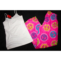 Love To Sleep Forever 21 Set Pijama Peace Love Talla Chica