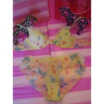 Conjunto Bra Y Bikini The Pink 34 A/s