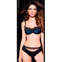 Coordinado Vicky Form 2824 Brassiere Y Bikini De Encaje Sexy
