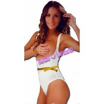 Body Siluette Body Bikini Senos Libres Baja 2 Tallas Vmj 103