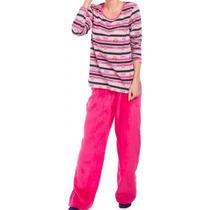 Pijama Rosa Paul Frank Talla 28 Y 32 Pantalón De Peluche