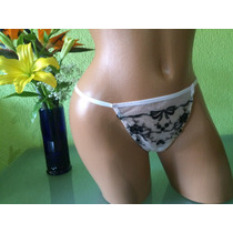 Victorias Secret Bikini Tanga Rosa Y Negro