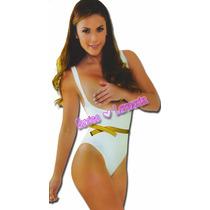 Faja Body Siluette Body Bikini Senos Libres Reduce Una Talla