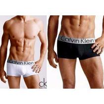 Lote 50 Boxer Calvin Klein Flag Steel 365 Varios Colores