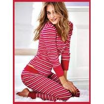 Sonoma Set Pijama Termica Estrellas Frambuesa Talla 3xl