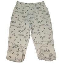 Algodón Orgánico Del Bebé Pantalones Gots Footed Ropa Certif