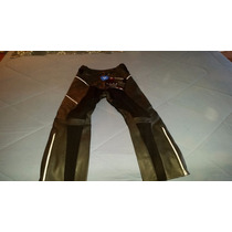 Pantalón De Piel 100% Teknic Motocicleta Para Dama Talla 8