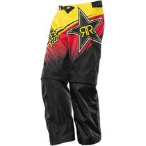 Respuesta Modo 2014 Mx Rockstar Pantalones Negro / Rojo / Am