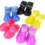 Botas De Lluvia Y Frio Para Mascota, Varios Colores