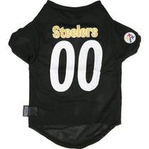 Camisa Para Perro Nfl Pittsburgh Steelers Jersey Mascotas M