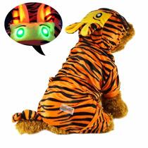 Disfraz Perro Pawow De Tigre Con Luces Led