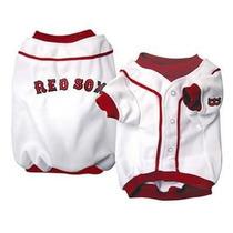 Camisa Para Perro Jersey De Béisbol - Boston Red Sox Xl