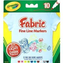 Crayola Fine Line Tejido Marcadores 10 Count