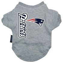 Camisa Para Perro Nfl New England Patriots Logo T-shirt - G
